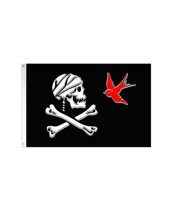 Pirate With Sparrow 3x5 Polyester Flag