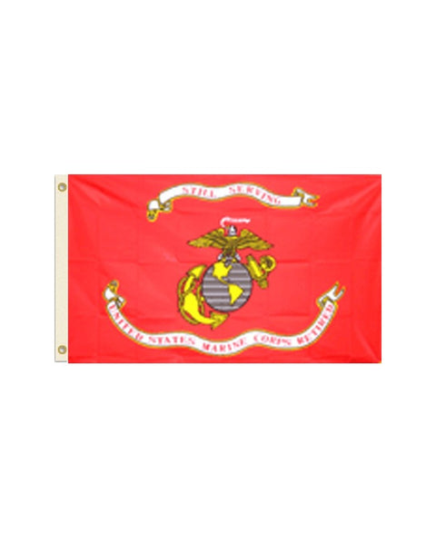Retired Marines 3x5 Foot Polyester Flag