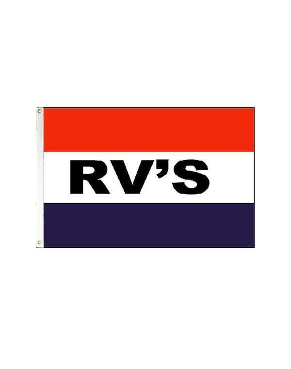 RV's 3x5 Polyester Flag