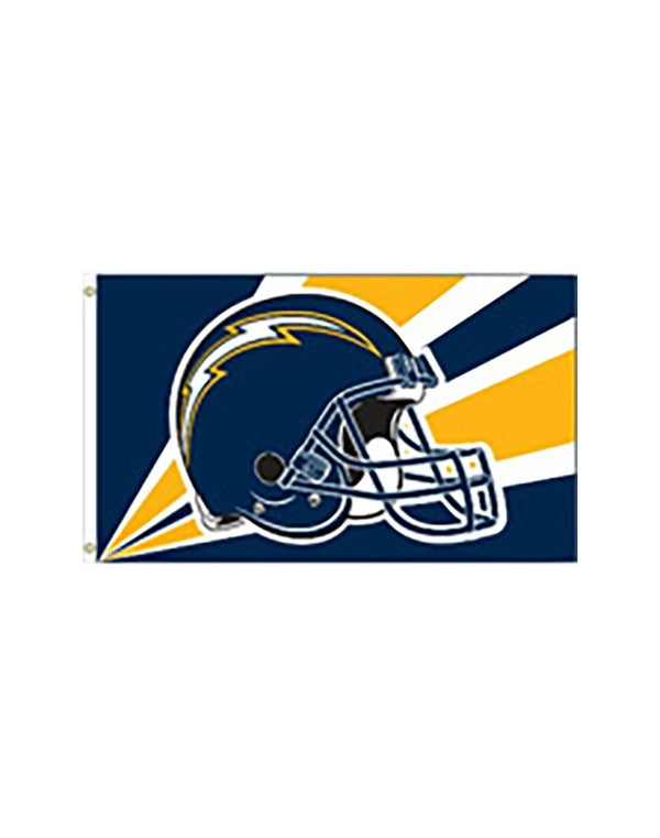 "Los Angeles Chargers ""Helmet"" 3x5 Flag"