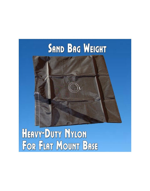 Sand Bag Weight for Cross Mount Base