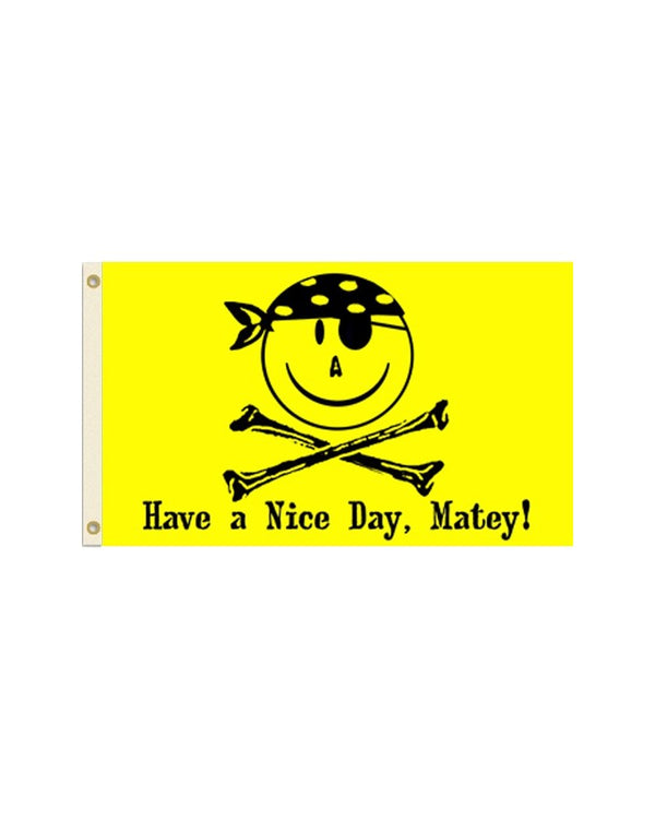 Smiley Pirate Flag