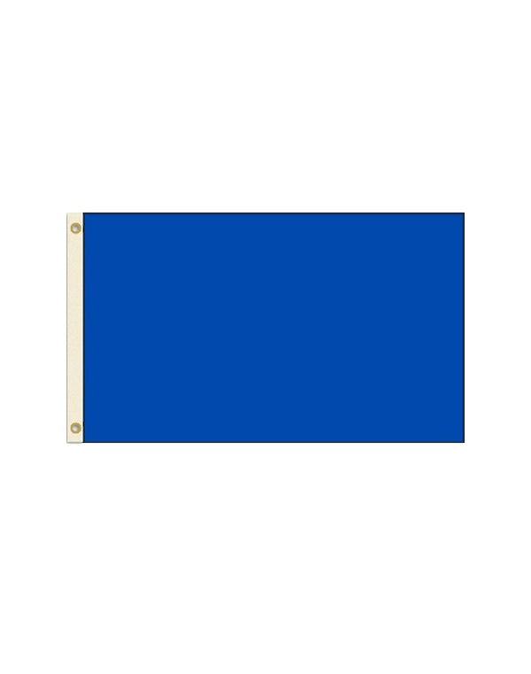Solid Royal Blue 3x5 Polyester Flag
