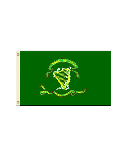 Sons of Erin 3x5 Polyester Flag