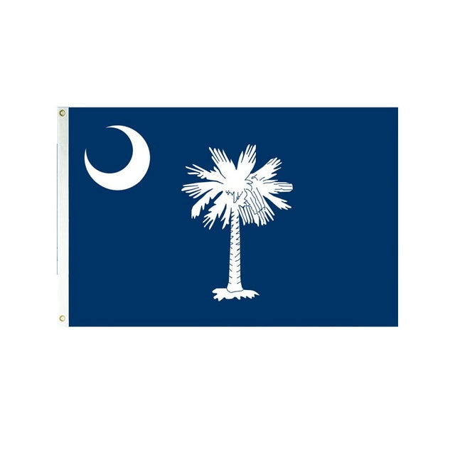 South Carolina 3x5 Polyester Flag