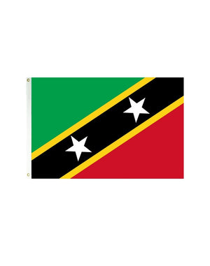 St. Kitts and Nevis 3x5 Polyester Flag