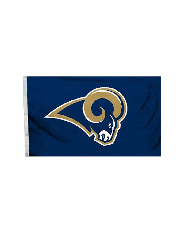 97f170ff Los Angeles Rams (Logo) 3x5 Polyester Flag