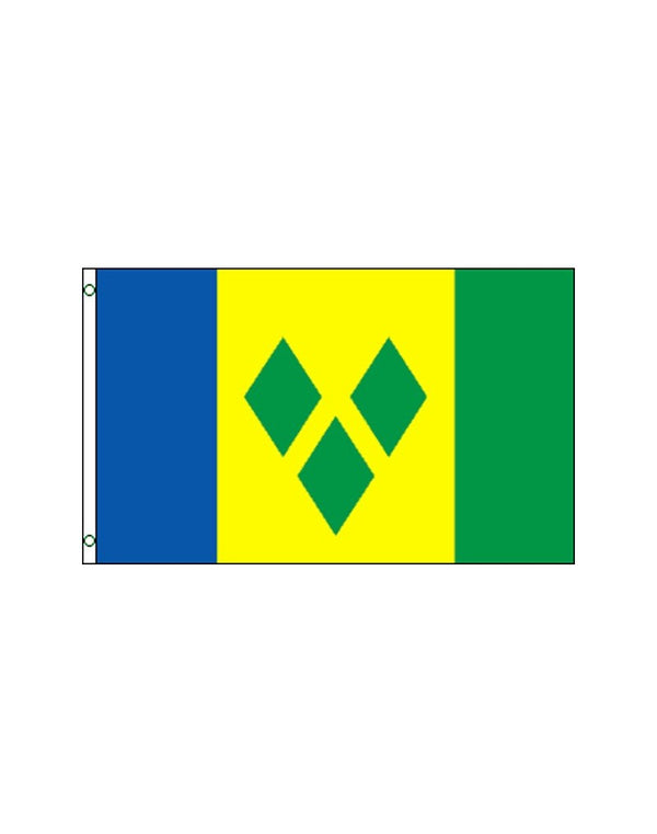 St. Vincent and Grenadines 3x5 Polyester Flag