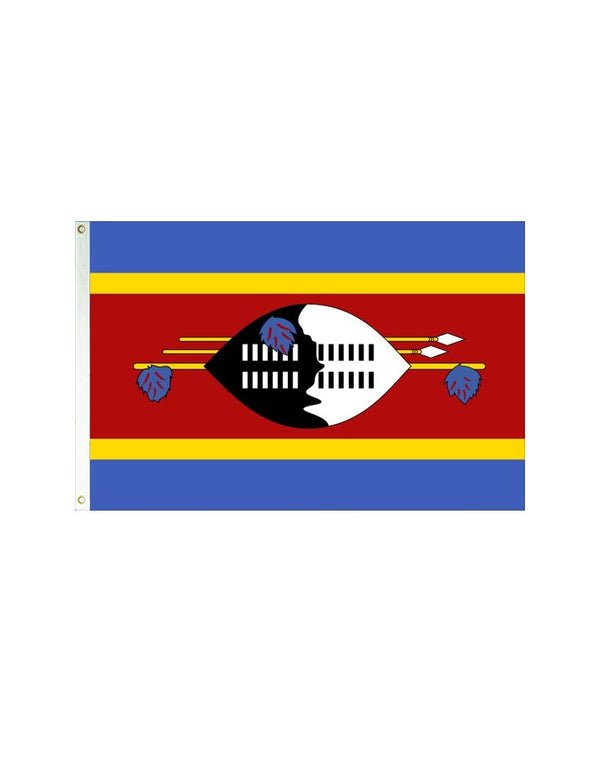 Swaziland 3x5 Polyester Flag