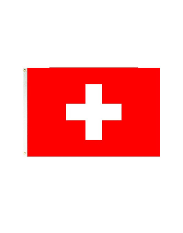 Switzerland 3x5 Polyester Flag