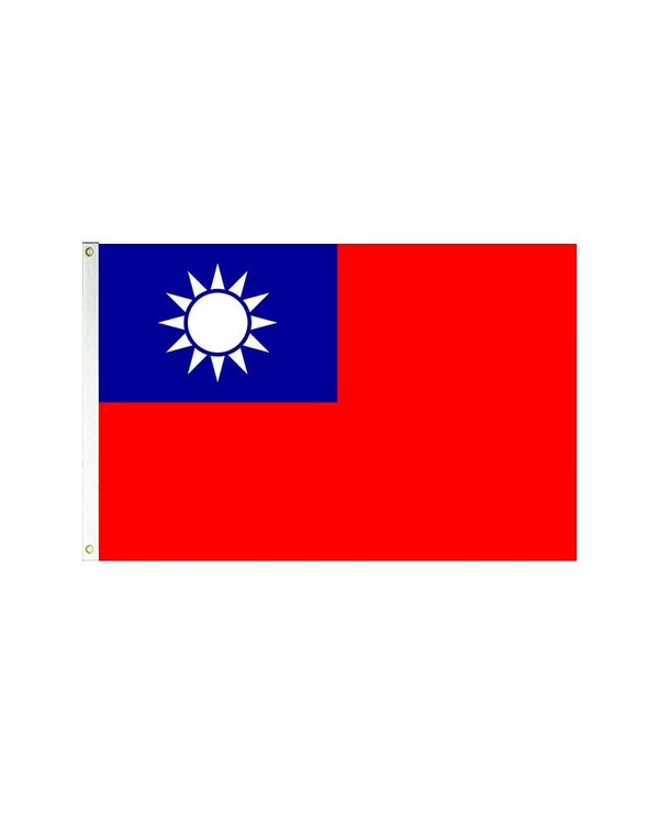 Taiwan 3x5 Polyester Flag