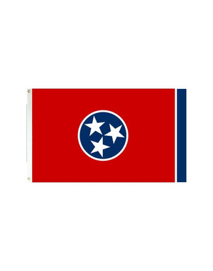 Tennessee 3x5 Polyester Flag