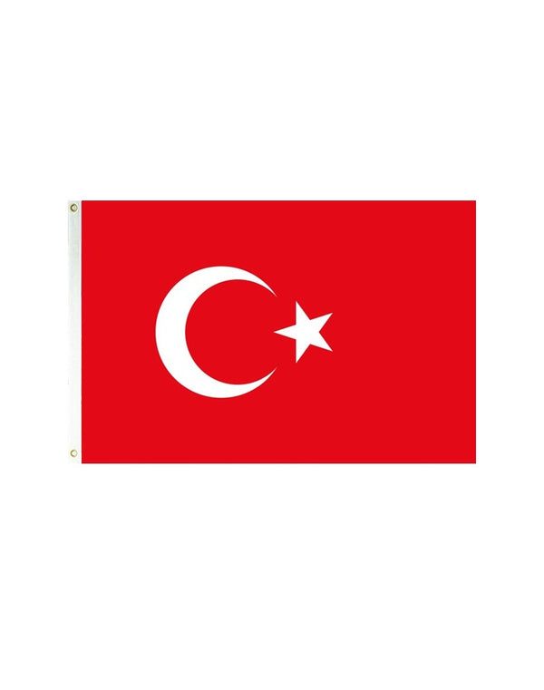 Turkey 3x5 Polyester Flag