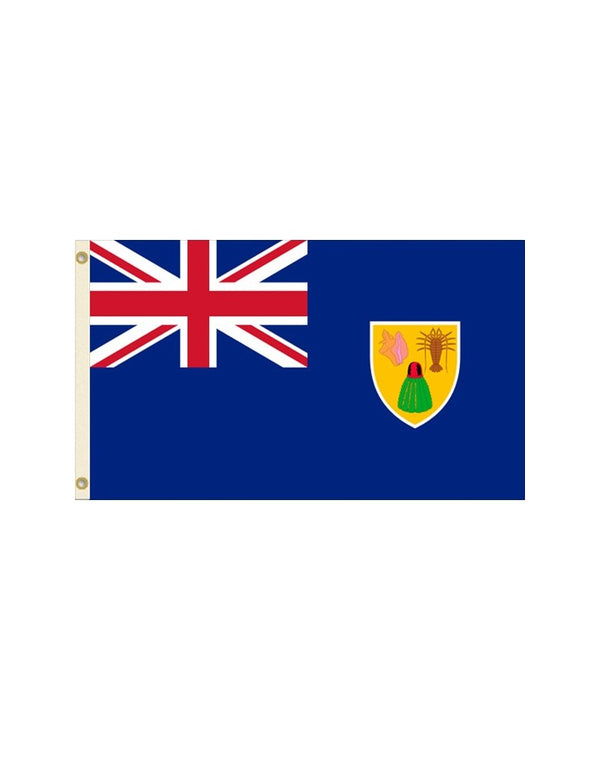 Turks and Caicos Island 3x5 Polyester Flag