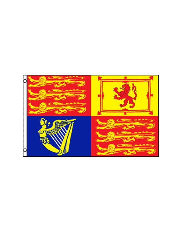 UK Royal Standard 3x5 Polyester Flag