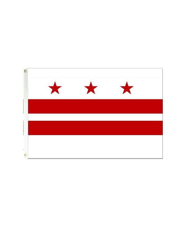 Washington D.C. 3x5 Polyester Flag