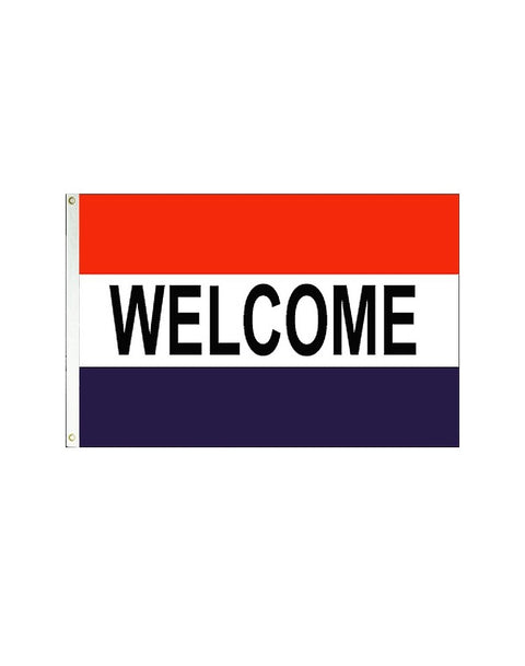 Welcome 3x5 Polyester Flag