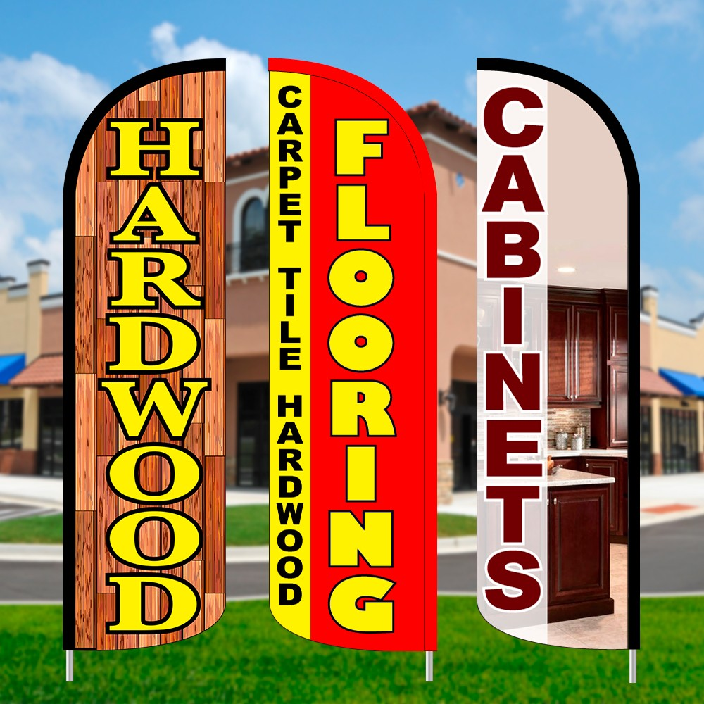 Flooring & Remodeling Feather Flags