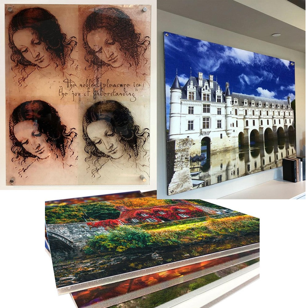 Specialty Prints on Rigid Media like Acrylic, Aluminum and Foam Board