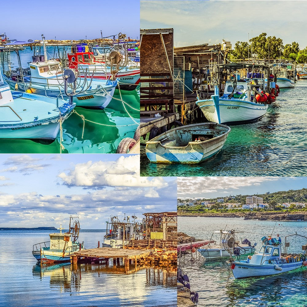 Fishing Boats of Cyprus