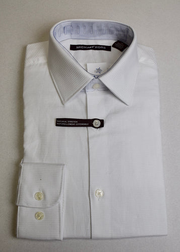 Boys White Ribbed Shirts