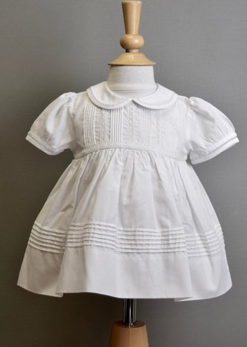 short christening dress