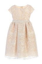 Load image into Gallery viewer, Special Occasion Dress Embroidered Lace Pearl Waist