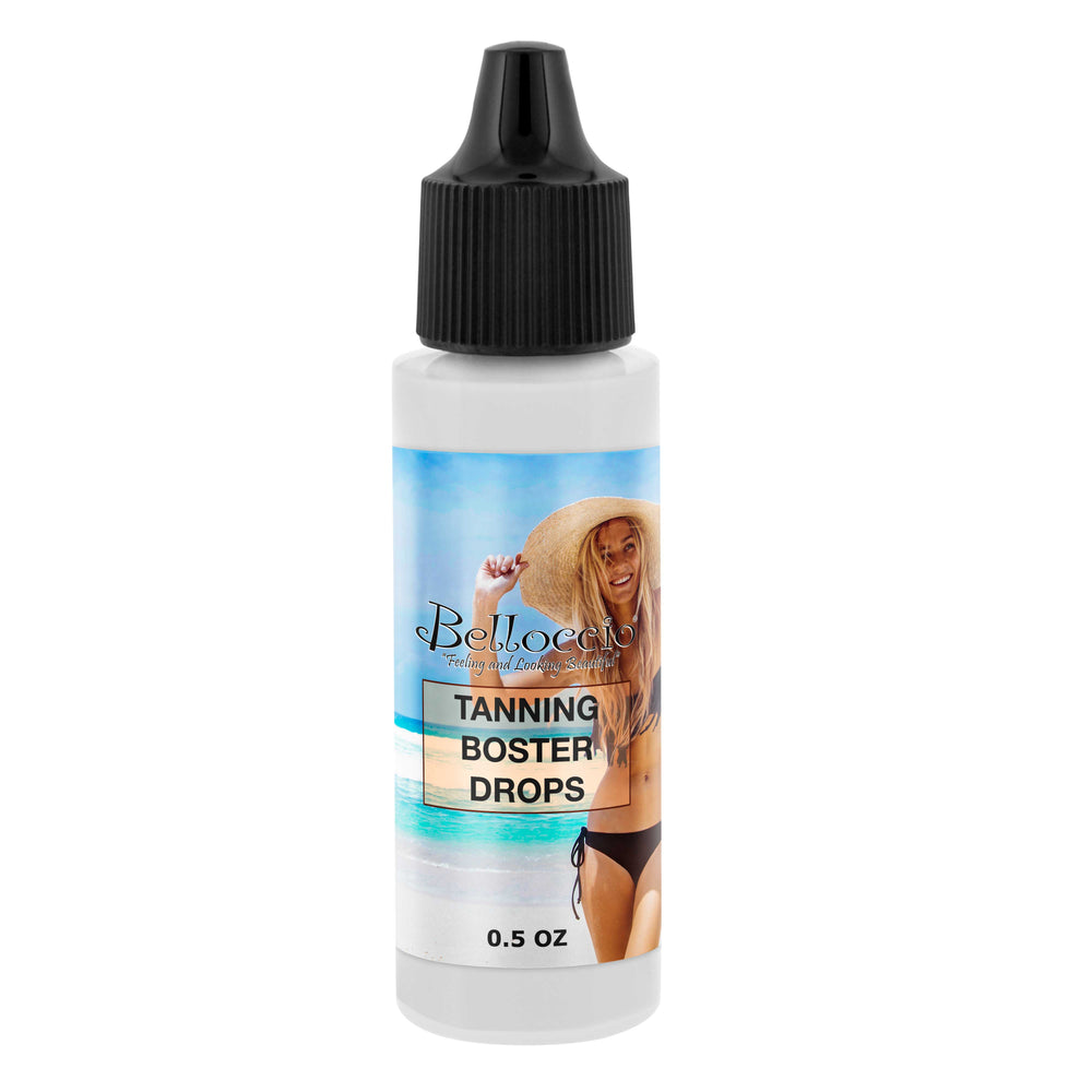 1/2 Ounce Bottle of Belloccio DHA Power Booster Drops (For Intensifying Sunless Spray Tans)