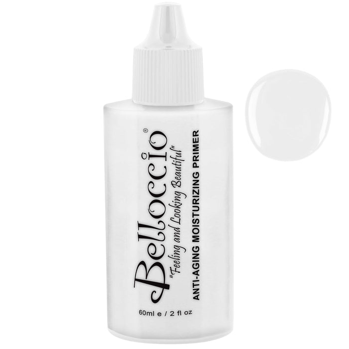 Belloccio Professional Airbrush Makeup Anti-Aging Moisturizing Primer; 2 oz. Bottle