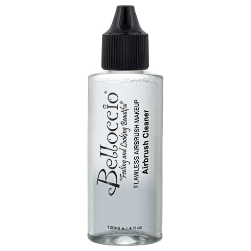 Belloccio Professional Airbrush Makeup Cleaning Solution, 4 oz. Bottle