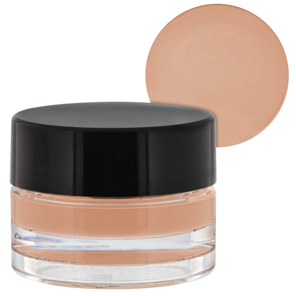 Belloccio High Definition Medium Shade Makeup Concealer 5 gram Jar - Conceal Imperfections, Hide Blemishes, Dark Under Eye Circles, Cosmetic Cream