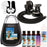 Belloccio Premium T75 Sunless Turbine Spray Tanning System; Pint Simple Tan 8% DHA Solution, 4 Solution Variety Pack, Tent, Cups, Acc. & Video