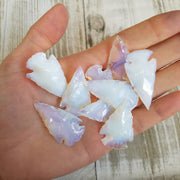 "Opalite Arrowheads 1.5"" - 10-100 Pieces"