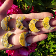 Bumble Bee Jasper Moons 30mm