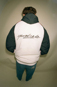 Reversible Jacket (White/Black/Lilac)