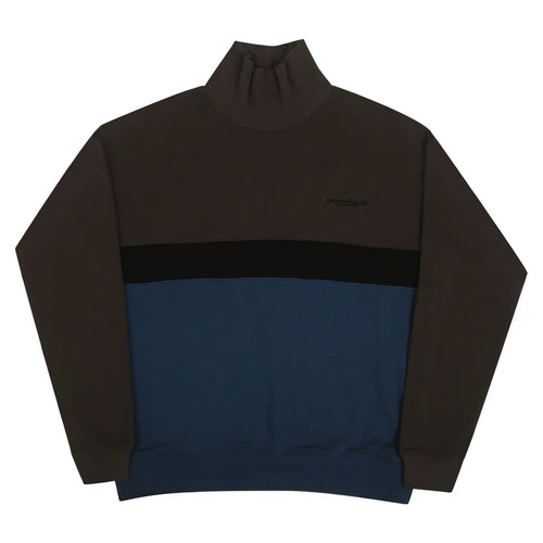 Menace Rollneck (Black/Indigo)