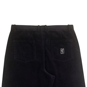 YS Corduroy Slacks (Navy/White)