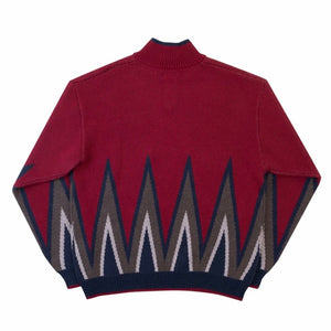 Blaze Knit Quarterzip (Red)