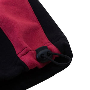 2-Tone Track Bottom (Black/Claret)