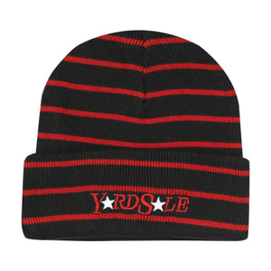 Magic Stripe Beanie (Black/Red)