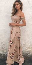 Load image into Gallery viewer, Sandy Beaches Maxi Dress