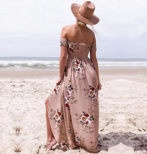 Sandy Beaches Maxi Dress