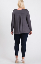 Load image into Gallery viewer, Long Sleeve criss-cross front top