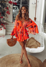 Load image into Gallery viewer, Orange dream romper