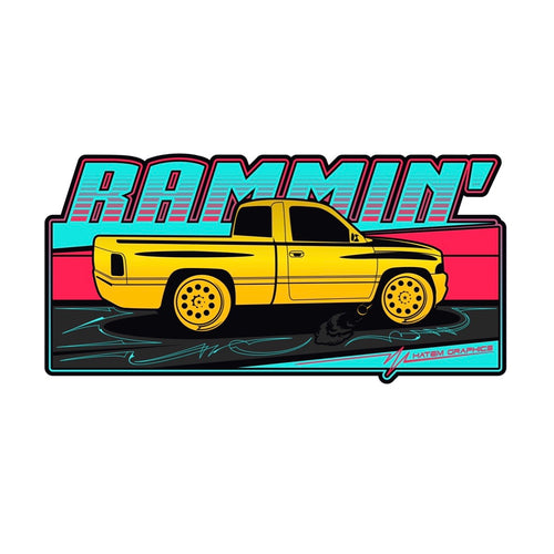 Rammin' decal
