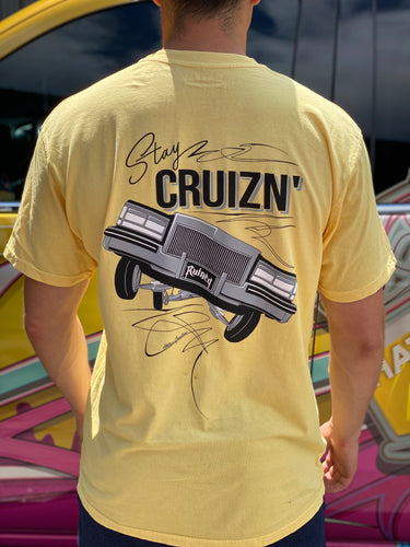 StiLL CruiZn Cadillac T shirt