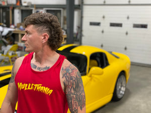 Mulletmania tank top