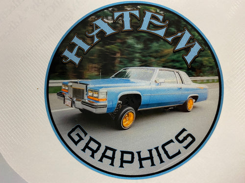 Hatem Graphics Caddy Decal
