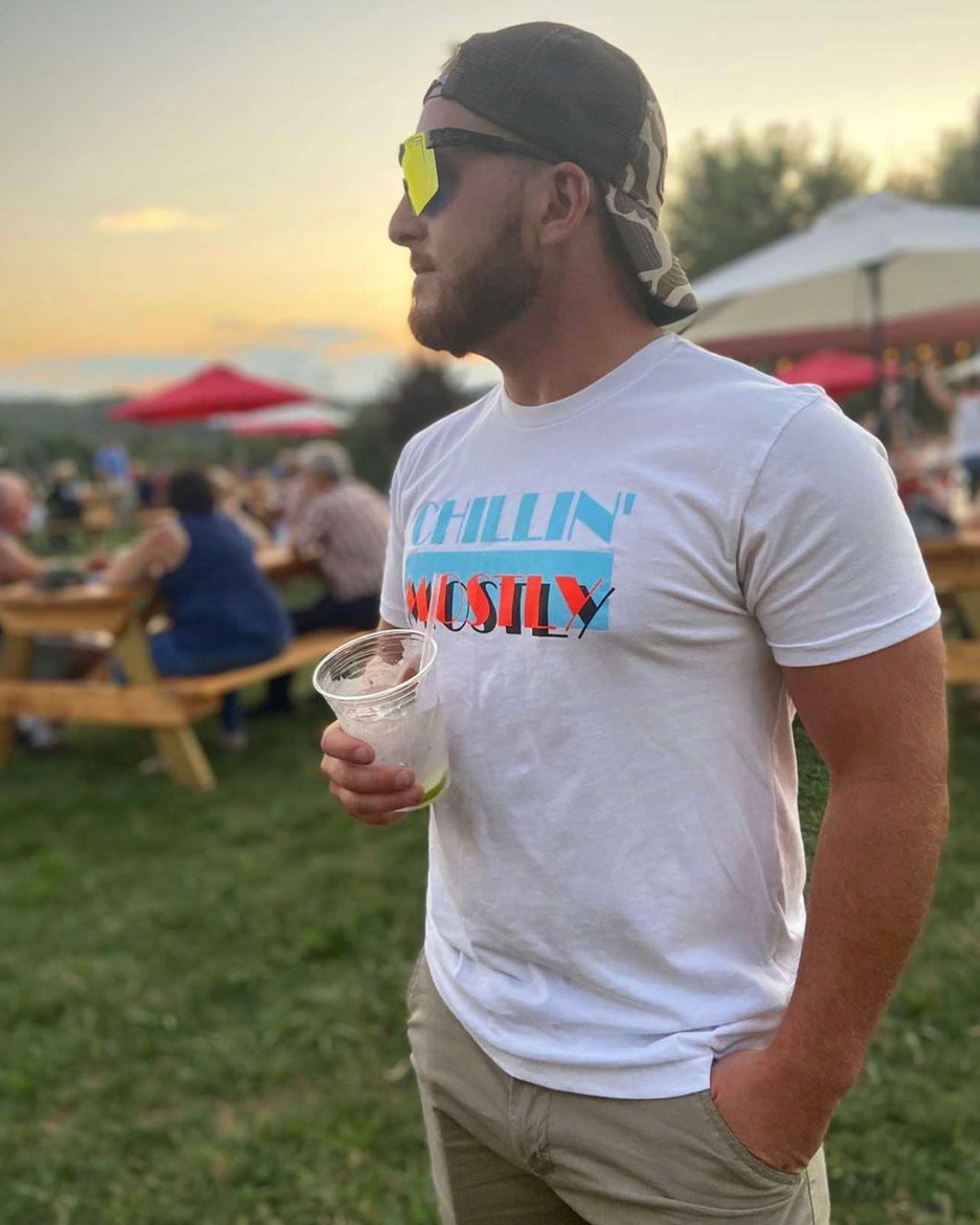 Chillin Mostly T shirt