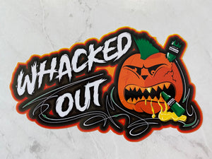 Whacked Out decal